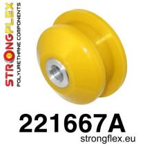 Stongflex Első lengőkar hátsó szilent SPORT sárga