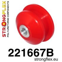 Stongflex Első lengőkar hátsó szilent SPORT piros