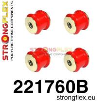 Hátsó stabilizátor összekötő szilent SPORT piros