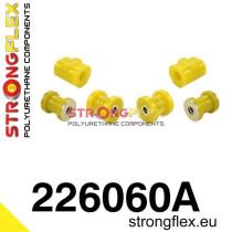 Első felfüggesztés szilent készlet sárga  Audi 50 74-78, Volkswagen Derby, Volkswagen Polo I, II 75-94