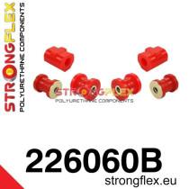 Első felfüggesztés szilent készlet piros  Audi 50 74-78, Volkswagen Derby, Volkswagen Polo I, II 75-94