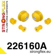 Stongflex Első felfüggesztés szilent készlet SPORT sárga