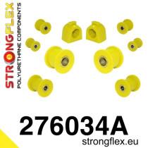 Subaru Első felfüggesztés szilent készlet SPORT sárga