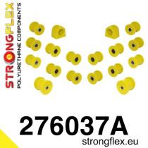 Subaru Hátsó felfüggesztés szilent készlet SPORT sárga