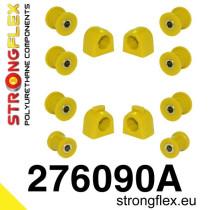 Subaru Első és hátsó stabilizátor szilent készlet SPORT sárga