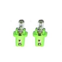 Műszerfal izzó zöld LI-TECH 2W B8.5D IZ-CC42750G