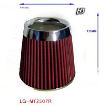 LG-MT2507R Direkt szűrő / Sport levegőszűrő piros