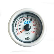 Fehér hátterű OR-LED7708 kipufogógáz hőmérséklet mérő