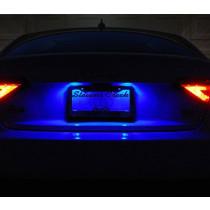 Rendszámvilágítás kék LE-2009B