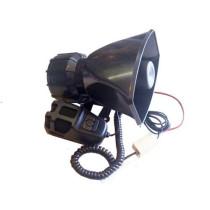 sziréna Autós hangosbeszélő, 60W, 3 szólamú SZI-ES16