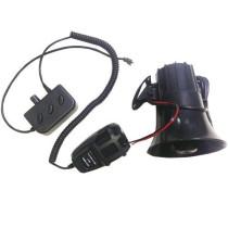 sziréna Autós hangosbeszélő, 120dB, 40W SZI-ES57