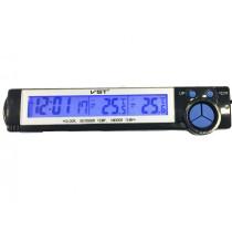 Digitális Hőmérő Kűlső-Belső Dátum idő AE-CD7043