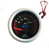 Fekete számlap OR-LED7704BK olajnyomásmérő