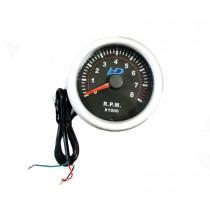 Fekete számlap OR-LED7705BK fordulatszám mérő