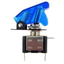 Autós fedeles kapcsoló kék AE-CM58095blue