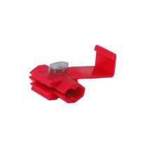 Elektromos gyorscsatlakozók, piros, 0,5-1mm kw, 22-18AWG, 10A max., 5 db / 86298