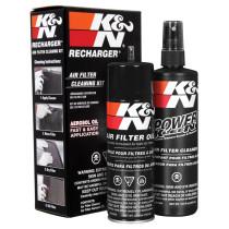 K&N légszűrő tisztító és olajzó szett