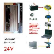 Inverter AE-24V-220V/1000W