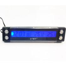 Digitális Hőmérő Kűlső-Belső Dátum-Idő AE-CD7036