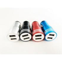 2-es USB töltő elosztó + ablaktörő AQ-036