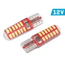 SMD LED, CANBUS, szilikon lámpatartó, fehér CM58255/01444