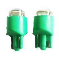 T10 4 ledes zöld helyzetjelző LED izzó CSL2000G