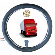 teherautós Valódi bőr furgon kormányvédő DS01BK-42CM