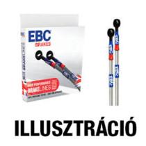 EBC BLA1462-4L Acélhálós fékcső- nagyteljesítményű fékcső készlet az eredeti gumicsövek helyére - egyéb