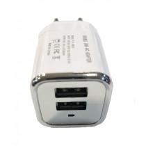 Hálózati 2-USB adapter, 2.1Amp GZ2USB