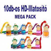 10db-os HD-ILLAT Illatosító MEGA PACK