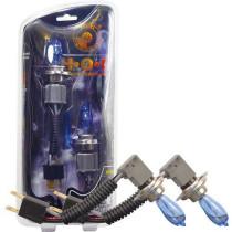 HOD Halogén izzó H11 foglalattal emelt fényerővel-kék
