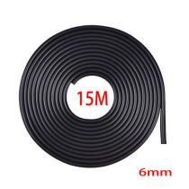 Fekete 15m hosszú 6mm széles díszcsík KCS-A-6BK