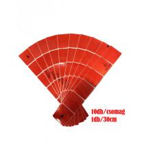 M-3CKR Piros kockás fényvisszaverő csík