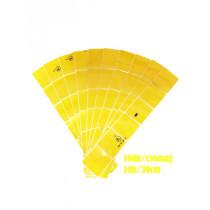 M-3CRY Sárga kockás fényvisszaverő csík