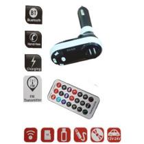 FM Transmitter, Bluetooth, 2USB  HF-LA618
