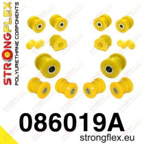 ELSŐ FELFÜGGESZTÉS STRONGFLEX SZILENT KÉSZLET SPORT HondaᅠCivic 91-95 HondaᅠCivic 95-00 UK HondaᅠCRX del Sol 92-97 MGᅠZS 01-05 Roverᅠ400 95-00 Roverᅠ45 99-05