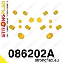 Első felfüggesztés szilent készlet SPORT Strongflex Honda Prelude IV 92-96