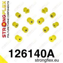 Hátsó felfüggesztés szilent készlet SPORT Strongflex MitsubishiᅠEvo IV - V - VI MitsubishiᅠLancer Evolution
