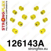 Hátsó felfüggesztés szilent készlet Strongflex MitsubishiᅠEvo VII - VIII - IX MitsubishiᅠLancer Evolution