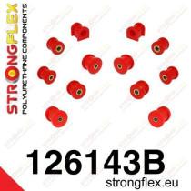 Hátsó felfüggesztés szilent készlet SPORT Strongflex MitsubishiᅠEvo VII - VIII - IX MitsubishiᅠLancer Evolution