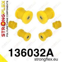 Első felfüggesztés szilent készlet SPORT Strongflex OpelᅠAstra G 98-04 OpelᅠAstra IV