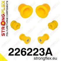 Első felfüggesztés szilent készlet SPORT Strongflex Seat Ibiza 02-08 Skoda Fabia 00-07 Volkswagen Polo 02-08