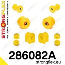 Első felfüggesztés szilent készlet SPORT Strongflex Nissanᅠ200SX S13 88-93