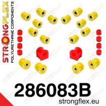 Hátsó felfüggesztés szilent készlet SPORT Strongflex Nissanᅠ200SX S13 88-93