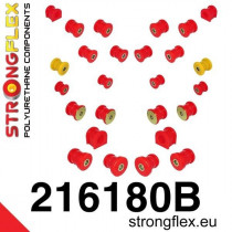 Teljes felfüggesztés szilent készlet SPORT Strongflex Toyota Supra 93-02 Toyota / Lexus Soarer SC300 SC400 91-00ᅠ