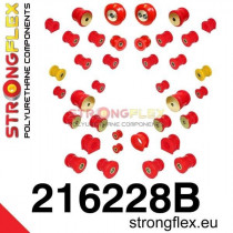 Teljes felfüggesztés szilent készlet SPORT Strongflex Toyota Supra 93-02 Toyota / Lexus Soarer SC300 SC400 91-00