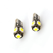 II CANBUS T10 5SMD Fehér SMD-PL-T10-5-5050