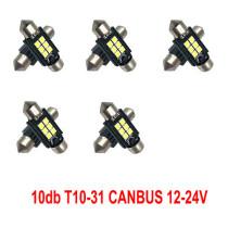 12/24V Canbus 10db-os SMD-SJ-3030-3-31MM Fehér