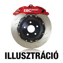 EBC SG2FC2028 Swept Groove 2 részes teljesen lebegő féktárcsa (Brembo féknyereghez) - első