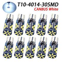 12/24V Canbus 10db-os T10-4014-30SMD Fehér